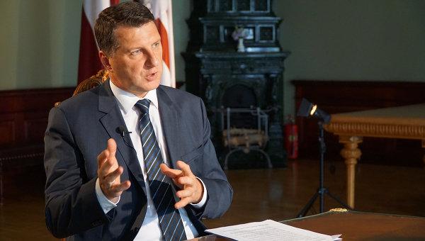 Президент Латвии: закрытие российских СМИ - не лучшее решение
