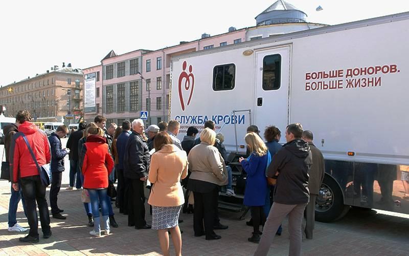 В Национальный день донора более 200 брянцев сдали кровь