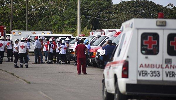 Утечка хлора отмечена на заводе в Мексике, где произошел взрыв