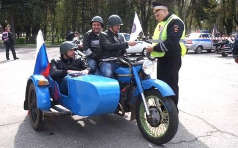 ВБрянске намотопробеге более десяти байкеров попали вполе зрения сотрудников ДПС