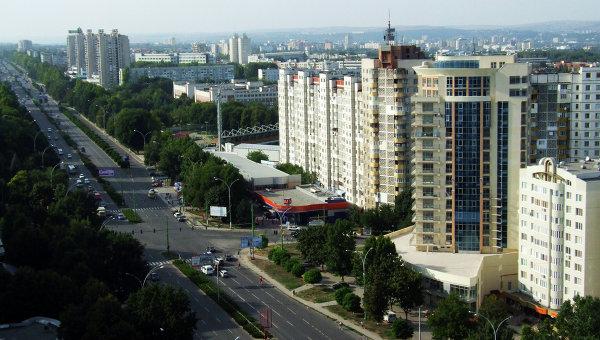 В центре Кишинева прошла акция