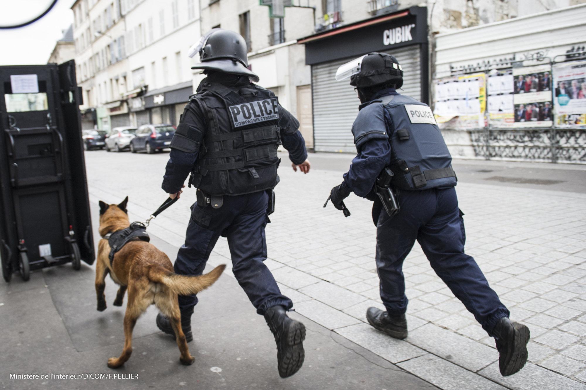 В Париже началась «битва при Аустерлице»: в полицию летят огнетушители
