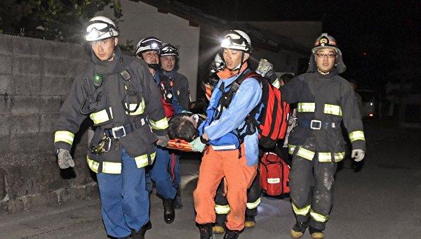 На японском Кюсю произошло почти 800 землетрясений за девять дней