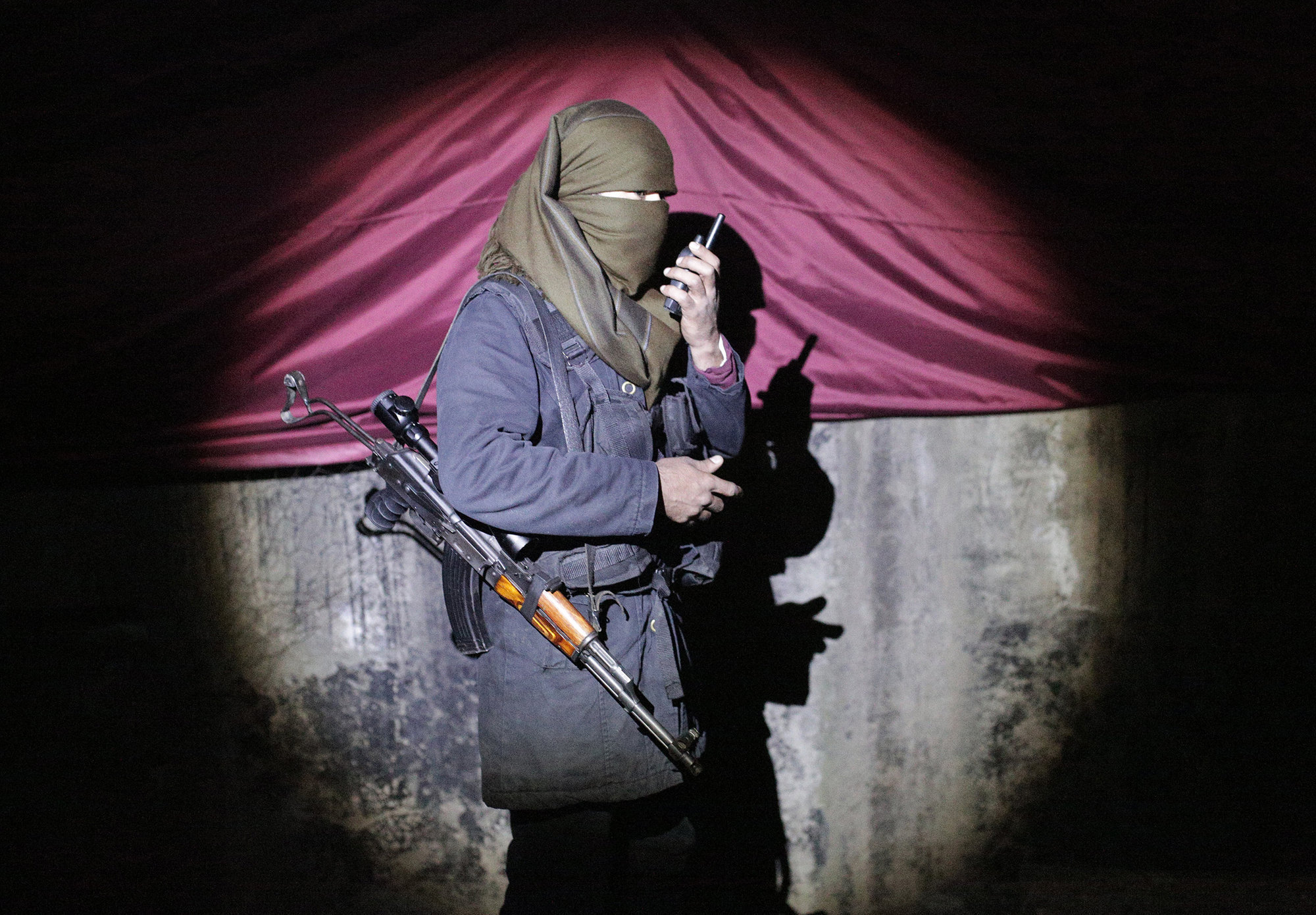 Женщина, наводящая ужас на джихадистов, посетила Евле