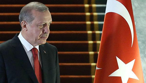 СМИ: президент Турции прибыл с рабочим визитом в Азербайджан