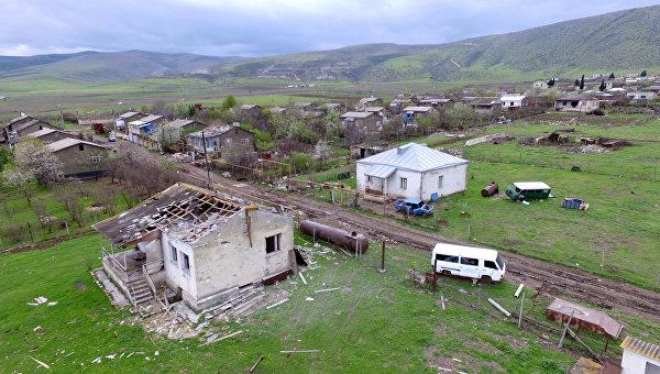 Минобороны Армении заявило об обстреле границы ВС Азербайджана