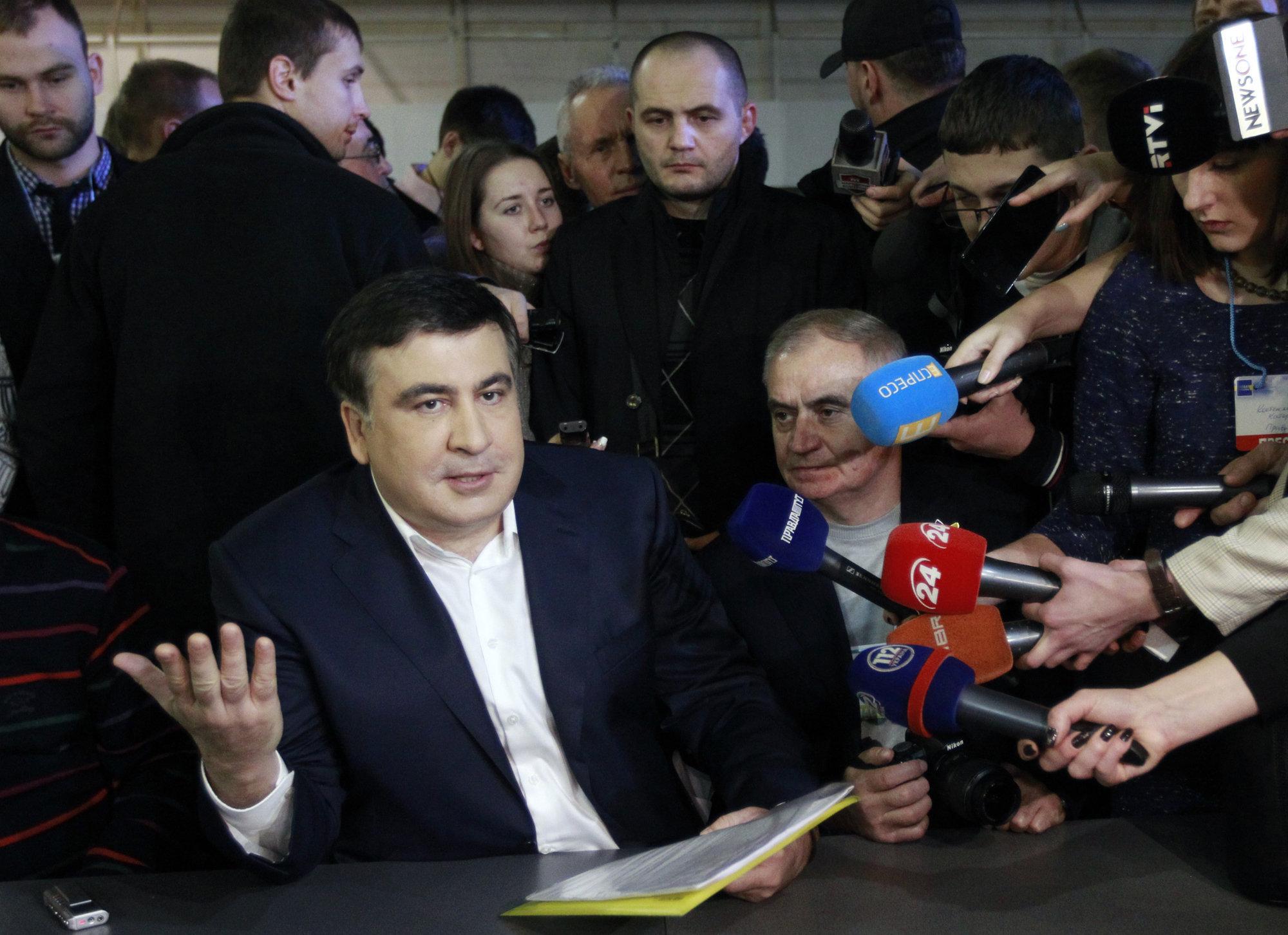 Саакашвили планирует победить олигархов в Украине и вернуться в Грузию