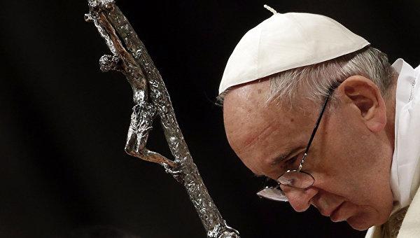 Папа Римский получил премию Карла Великого за вклад в объединение Европы