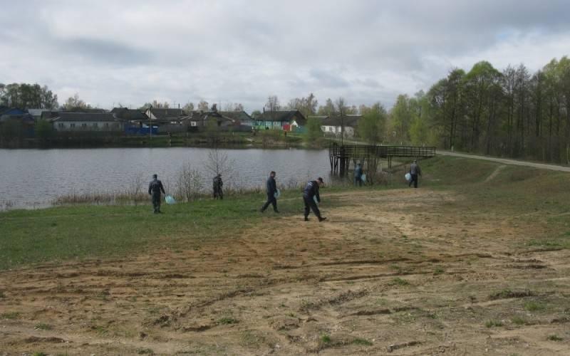 ВБрянской области начали очищать берега водоемов