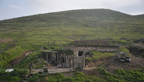 Минобороны Армении заявило об обстреле границы со стороны Азербайджана