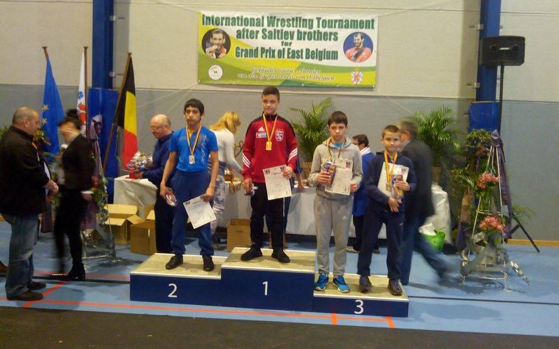 Стародубский борец стал призером международного турнира