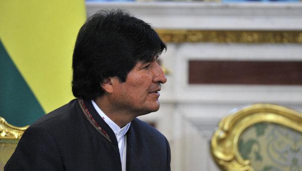 Моралес: Боливия подпишет соглашения по экспорту газа с Перу и Парагваем