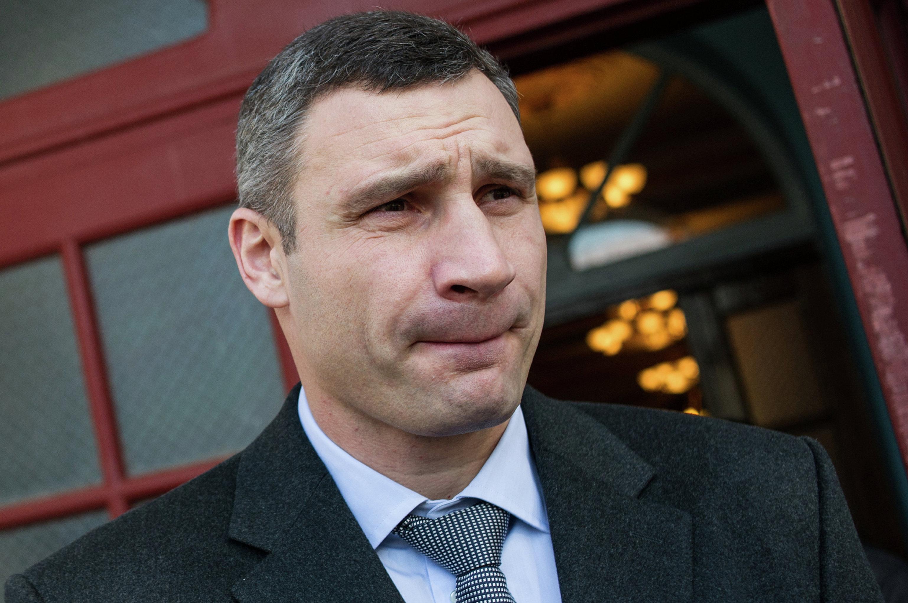 Против мэра Киева Кличко возбудили дело о госизмене