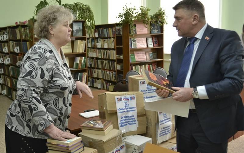 В Брянской области длясельских библиотек собрали более семи тысяч книг