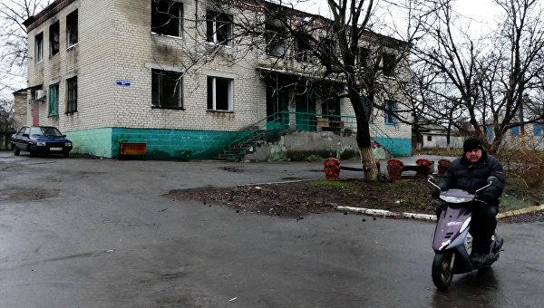 СМИ: ВС Украины ночью обстреляли пригород Горловки