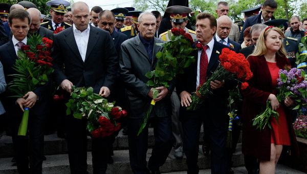 В Одессе День Победы проходит спокойно
