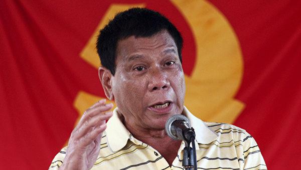 Дутэрте лидирует на выборах президента Филиппин