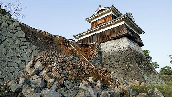 При землетрясении в Японии поврежден 361 объект культурного наследия страны