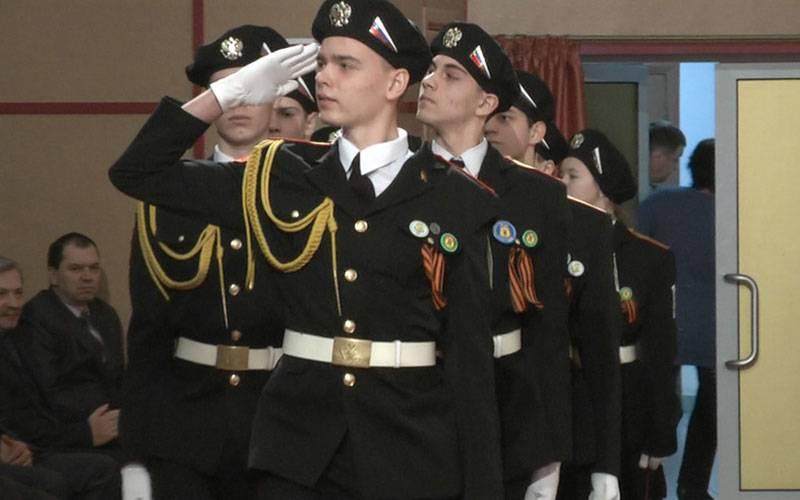 Почетные караулы школ Брянска встретятся насмотре-конкурсе