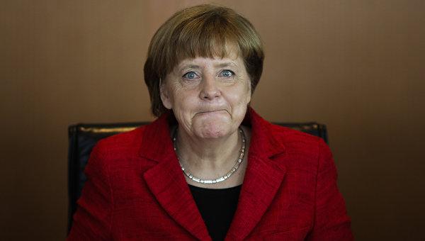 К приемной Меркель подбросили голову свиньи