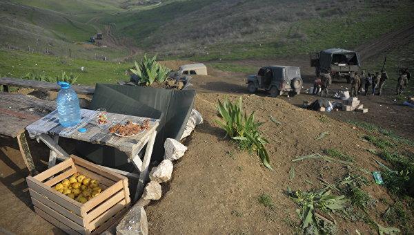 Минобороны Армении заявляет об обстреле границы военными Азербайджана