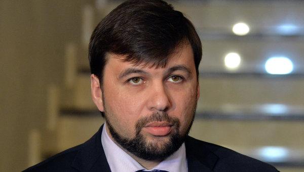 Пушилин: ДНР готова обсуждать с Киевом безопасность в рамках подгруппы