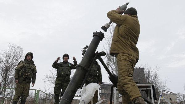 ВС Украины начали обстреливать поселок Зайцево в ДНР