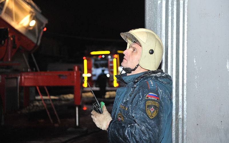 При пожаре вНовозыбкове пострадал человек