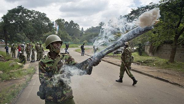 В Кении задержаны пятнадцать человек в ходе акции за роспуск избиркома