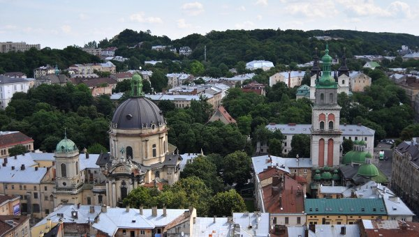 Во Львове произошла массовая драка между армянами и азербайджанцами