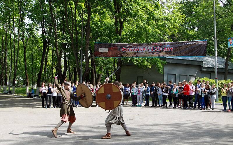 ВБрянске вчесть юбилея Фокинского района прошел исторический квест «Наша 120-я весна»