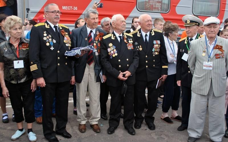 Брянцы встретили калининградский Поезд памяти