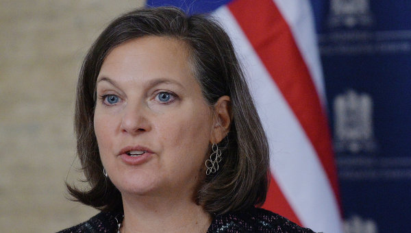 Виктория Нуланд приедет в Россию, чтобы обсудить кризис на Украине