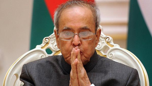 Президент Индии на следующей неделе посетит Китай