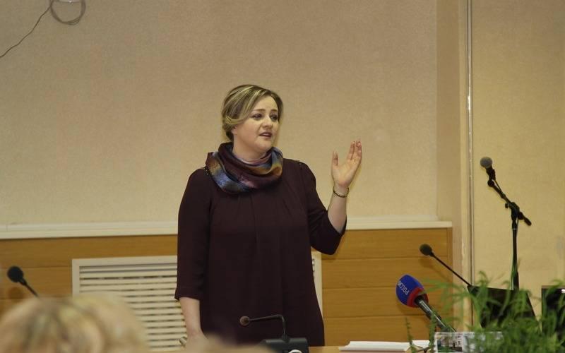 В Брянской области учителем года стала преподаватель гимназии №7 Ольга Евсеенко