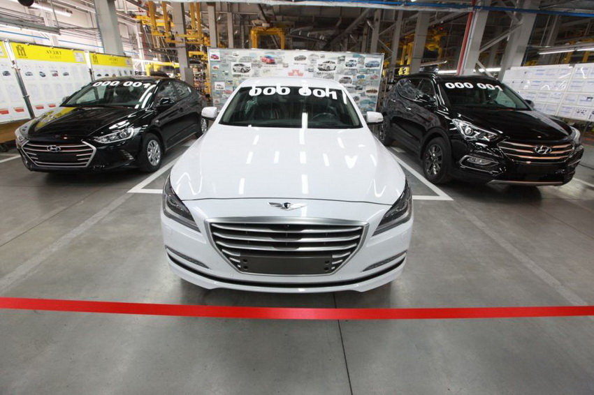 В Калининграде стартовало производство трех новинок Hyundai