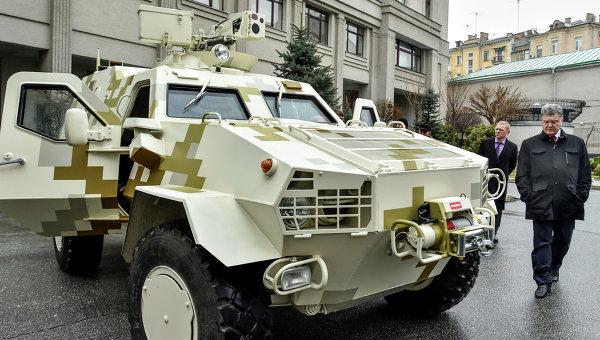 Генштаб Украины: якобы треснувшие БТР