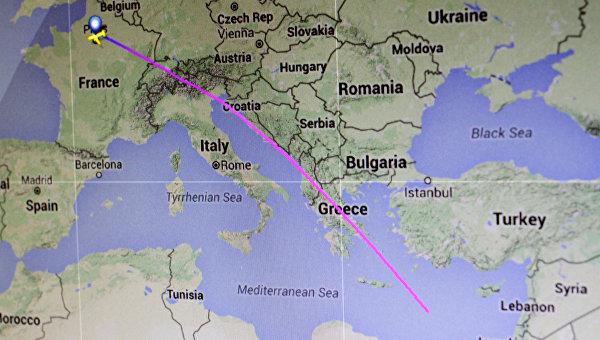 СМИ: найдены обломки лайнера EgyptAir