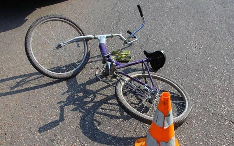 В Новозыбковском районе автомобилистка сбила семилетнюю велосипедистку