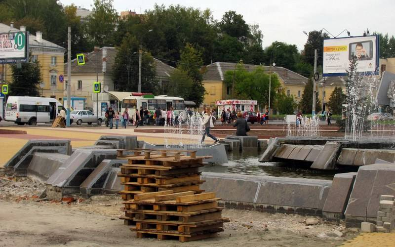 В Брянске наНабережной планируют реконструировать фонтан исделать смотровую площадку