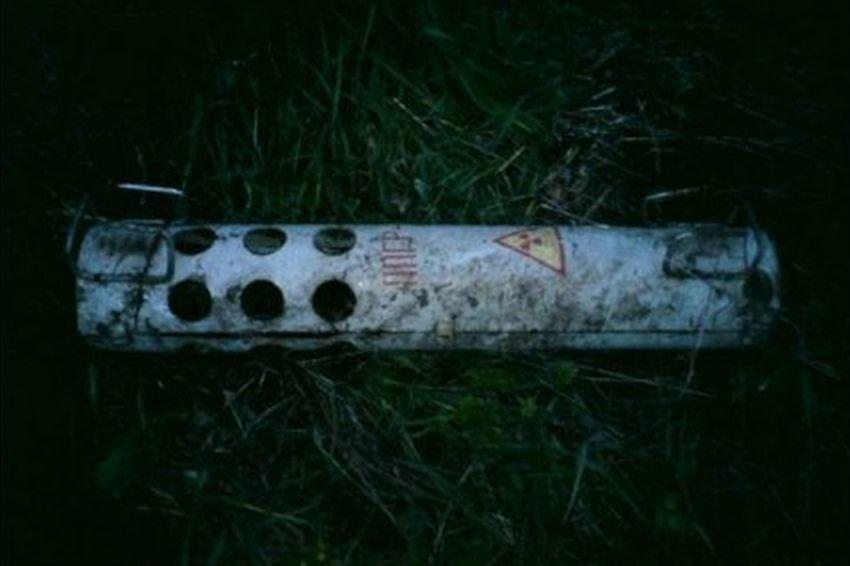 Под Орлом на берегу пруда нашли радиоактивные баллоны