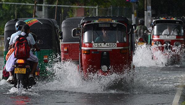 Германия выделит миллион евро для помощи Шри-Ланке после наводнения