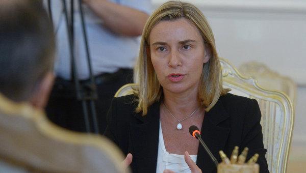Могерини: соглашения об ассоциации Молдавии и Грузии с ЕС заработают 1 июля