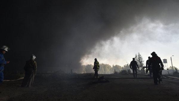 На Украине завершили расследование пожара на нефтебазе