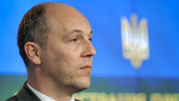 Спикер Рады: принять закон о выборах в Донбассе невозможно без перемирия