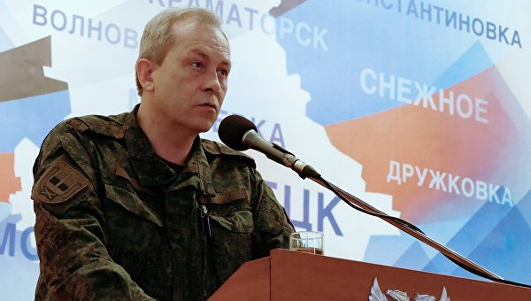 Басурин: силовики выпустили по территории ДНР почти 600 снарядов за сутки