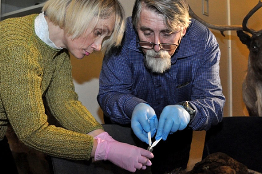 Ученые определят национальность найденной на Ямале мумии ребенка