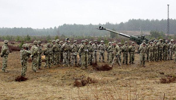 В Польше прошли учения сил сверхбыстрого реагирования НАТО