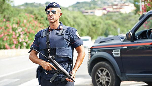 Полиция не назвала имя задержанного в Риме россиянина в интересах следствия