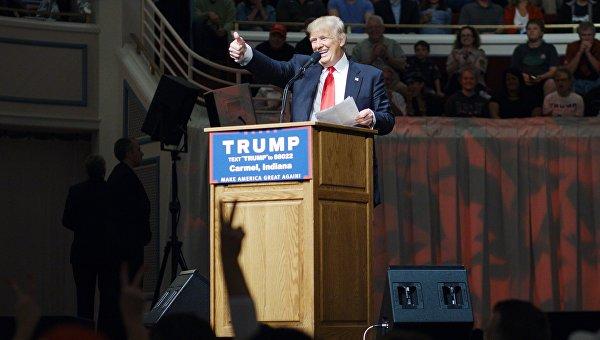 В штате Вашингтон на республиканских праймериз Трамп набирает 75% голосов